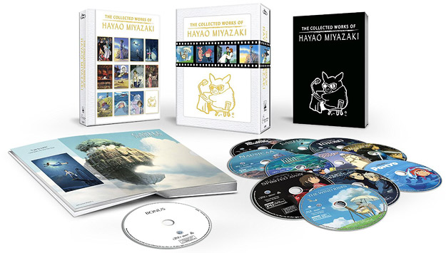 The Collected Works of Hayao Miyazaki (Blu-ray Disc)