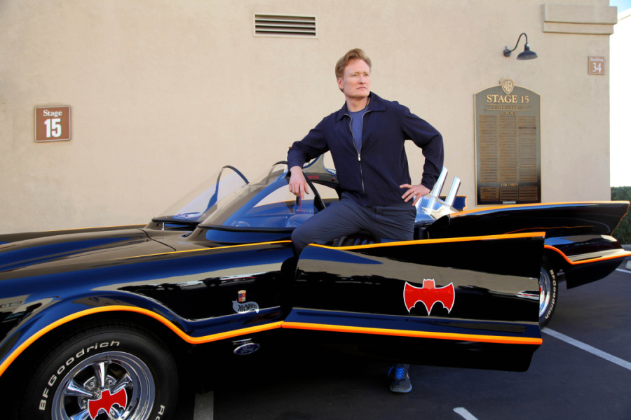 Conan O'Brien & The Batmobile