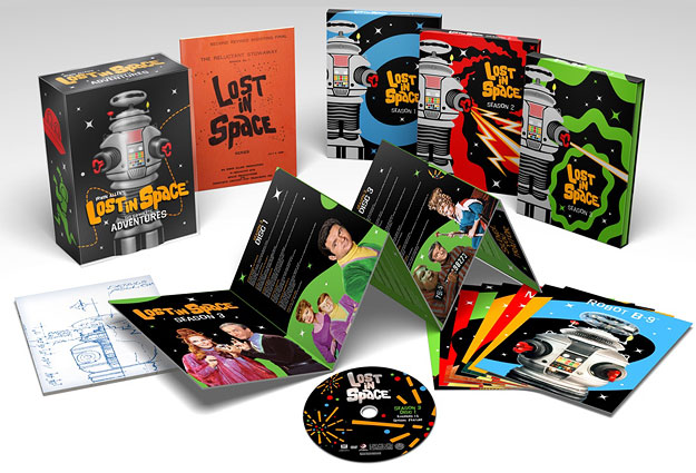 Lost in Space: The Complete Series (Blu-ray Disc)