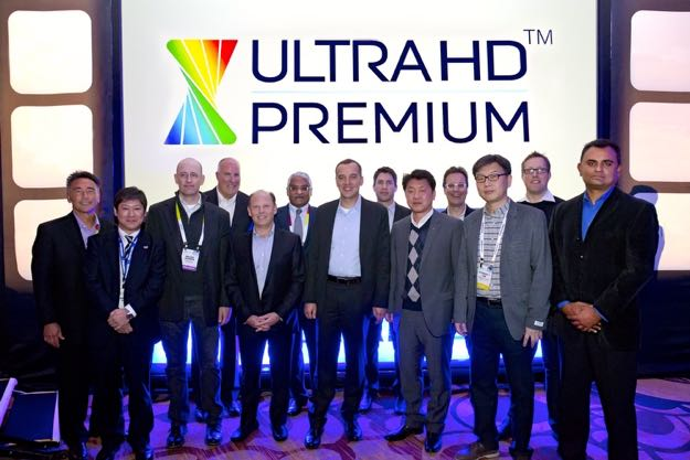 Representatives of all the UHD Alliance board member companies