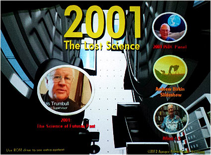 2001: The Lost Science - Volume 1 Bonus DVD