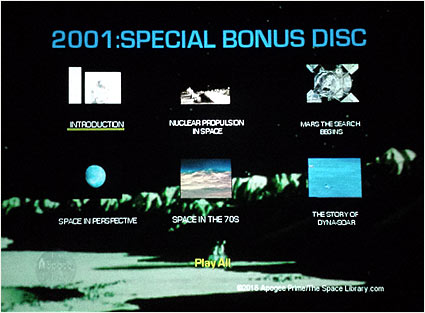 2001: The Lost Science - Volume 2 Bonus DVD