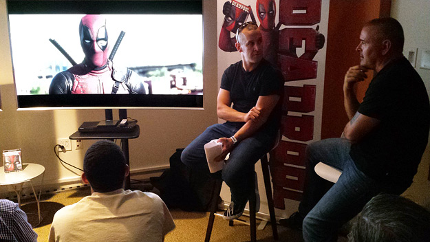 Deadpool director Tim Miller and colorist Tim Stipan talk 4K and HDR at the Fox Innovation Lab