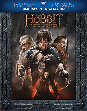 The Hobbit: The Battle of the Five Armies - Extended Edition (Canadian Blu-ray Disc)