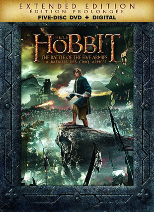 The Hobbit: The Battle of the Five Armies - Extended Edition (Canadian DVD)