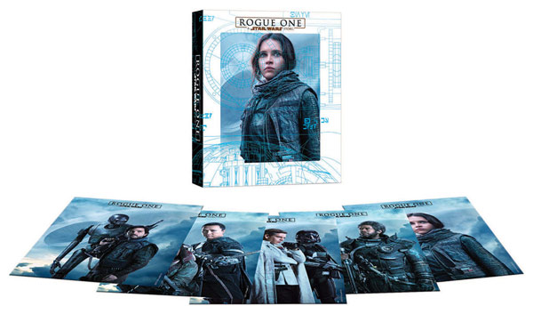 Rogue One: A Star Wars Story (Target exclusive Blu-ray)