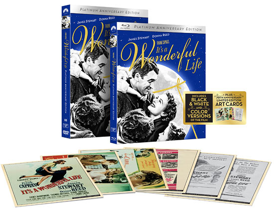 It's a Wonderful Life: 70th Anniversary Platinum Edition (Blu-ray Disc)