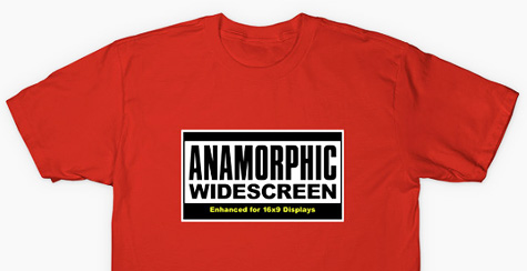 Anamorphic Widescreen T-Shirt