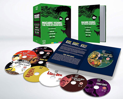 Macabre Visions: The Films of Mario Bava (UK Blu-ray Disc)