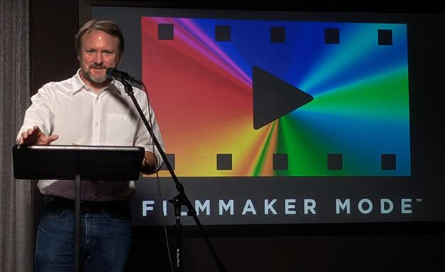 Rian Johnson on Filmmaker Mode