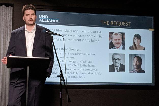 UHD Alliance chairman Michael Zink on Filmmaker Mode