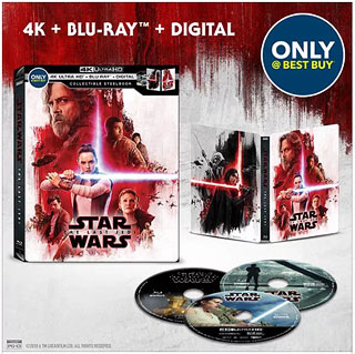 Star Wars: The Last Jedi 4K at Best Buy