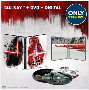 Star Wars: The Last Jedi Blu-ray at Best Buy