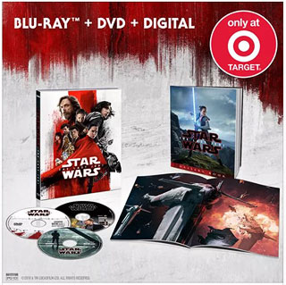Star Wars: The Last Jedi BD at Target