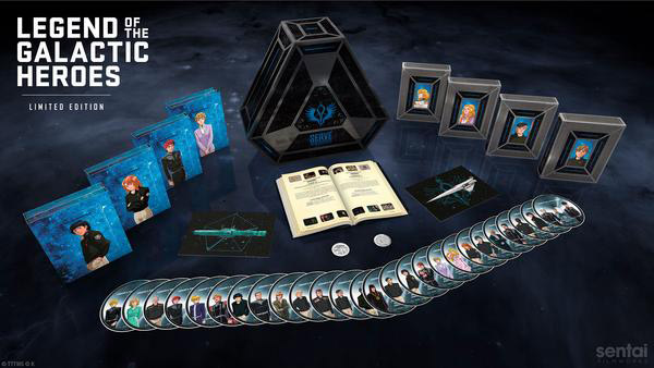 Legend of the Galactic Heroes: The Complete Series (Blu-ray Disc)