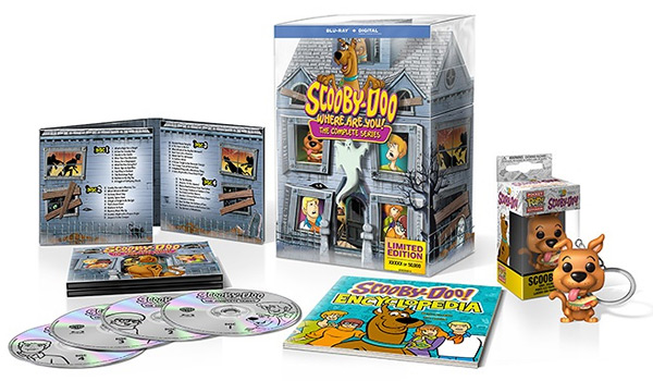 Scooby-Doo, Where Are You!: 50th Anniversary Mystery Mansion (Blu-ray Disc)