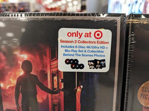 Stranger Things: Season 2 at Target