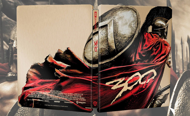 300 (4K Ultra HD Steelbook - Zavvi exclusive)