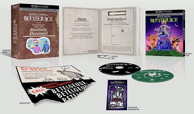 Beetlejuice 4K Amazon Giftset (Blu-ray Disc)