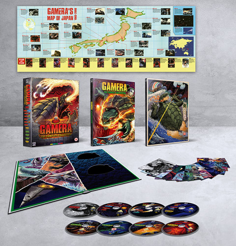 Gamera: Complete Collection (Blu-ray Disc)
