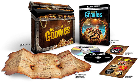 The Goonies 4K Amazon Giftset (Blu-ray Disc)