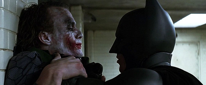 Duelity: The Joker and Batman from The Dark Knight