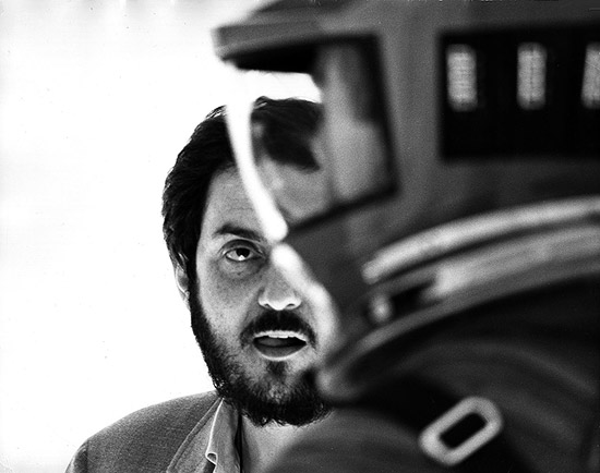 Director Stanley Kubrick on the set of 2001: A Space Odyssey