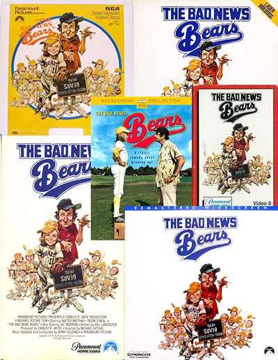 The Bad News Bears on home video