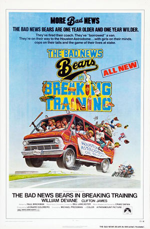 The Bad News Bears in Breaking Training (poster)