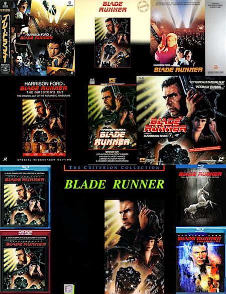 Blade Runner on home video