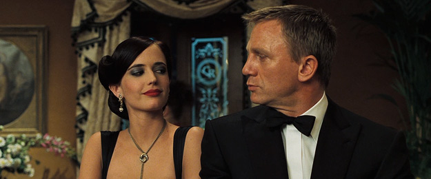 Daniel Craig and Eva Green in Casino Royale