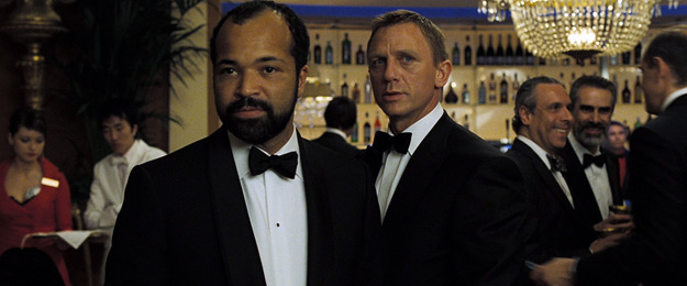 Jeffrey Wright as CIA agent Felix Lighter
