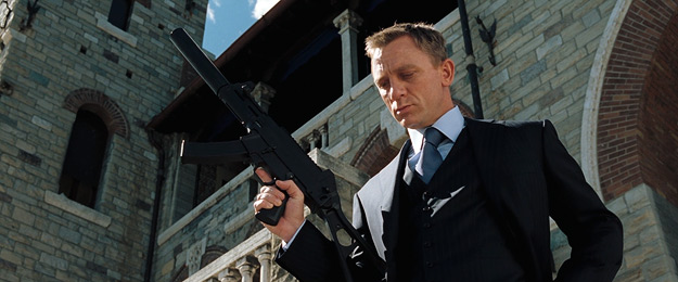 "Daniel Craig as MI6 agent ""007"" aka James Bond"