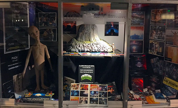 Cinerama Dome 40th Anniversary screening lobby display
