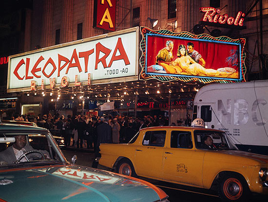 The Cleopatra premiere at the Rivoli Theatre