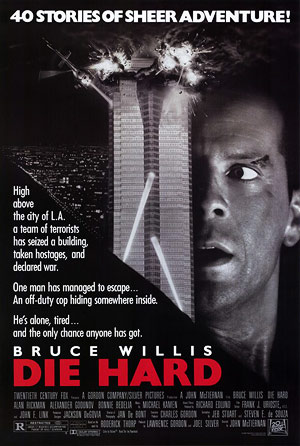 Die Hard one sheet