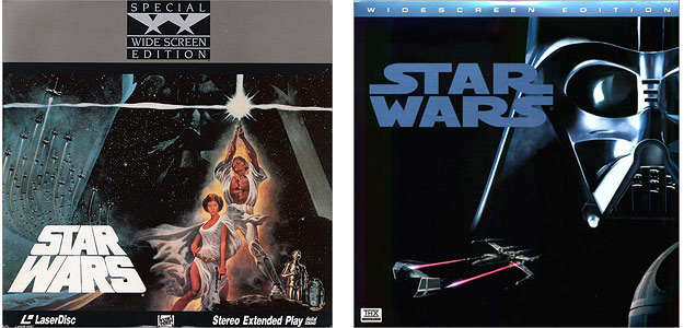 Star Wars - Laserdiscs