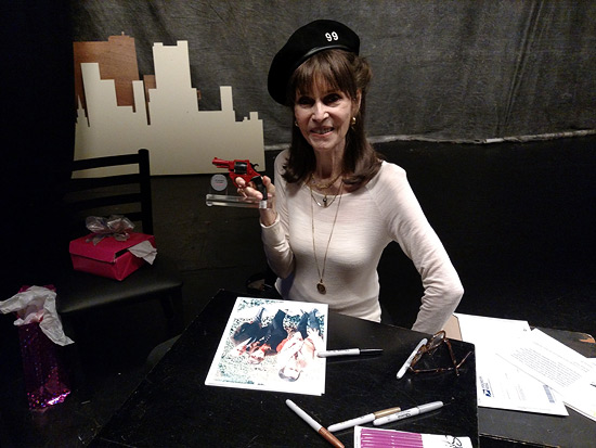 Barbara Feldon celebrates Get Smart's 50th anniversary