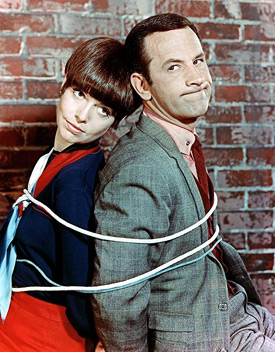 Don Adams & Barbara Feldon
