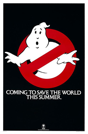 Ghostbusters advance poster