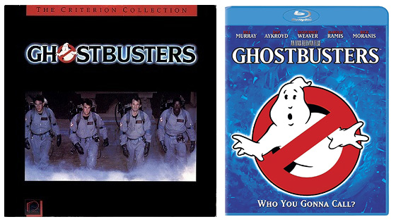 Ghostbusters LaserDisc and Blu-ray releases