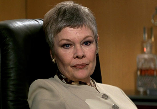 Judi Dench in GoldenEye