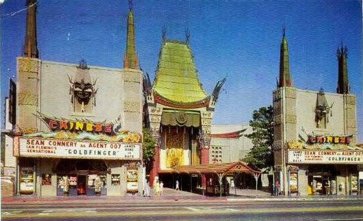 Goldfinger at the Chinese Theater