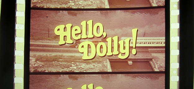 Hello Dolly 70mm film frame