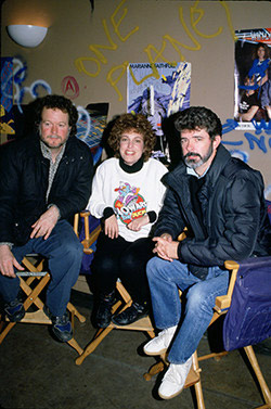 Willard Huyck, Gloria Katz & George Lucas