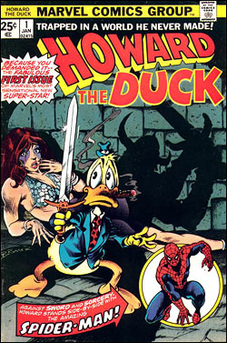Howard the Duck comic book