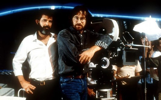 George Lucas and Steven Spielberg