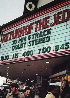 Opening Day for Return of the Jedi