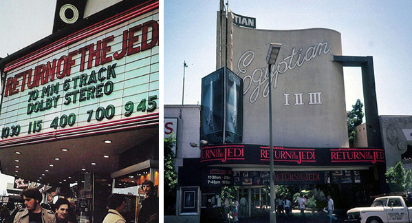 More original screenings of Return of the Jedi in 1983