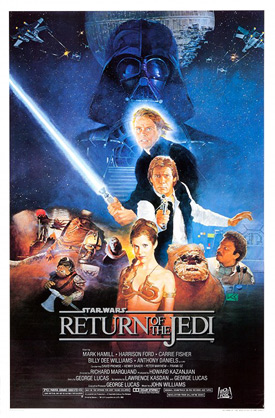 Return of the Jedi one sheet